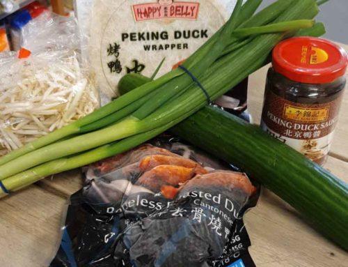 Recept: Peking Eend met Pannenkoekjes